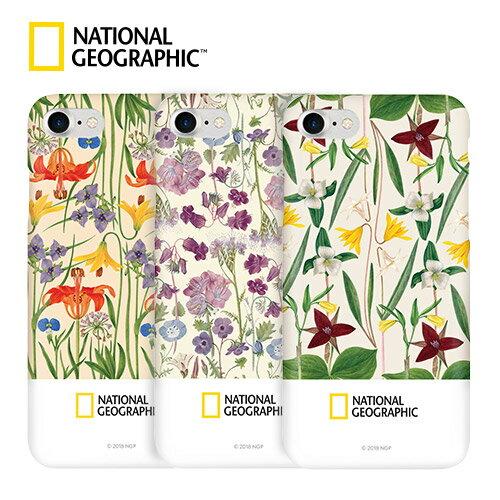 iPhone 8 / 7 ケース National Geographic Flower Frame Style Case Slim Fit(ナショナル ジオグラフィック フラワーフレームスタイルケース スリムフィット)アイフォン カバー スマホケース ナショジオ