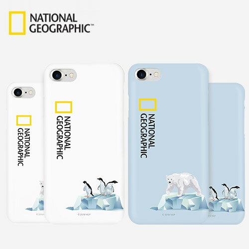 iPhone 8 / 7 ケース National Geographic Icebergs Case Slim Fit(ナショナル ジオグラフィック アイスバーグケース スリムフィット)アイフォン カバー スマホケース ナショジオ