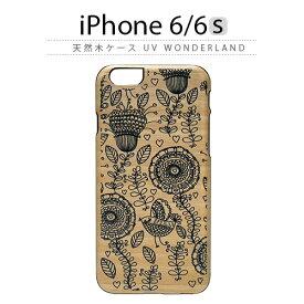 iPhone6s ケース 天然木 Man&Wood UV WonderLand(マンアンドウッド ワンダーランド)木製 木 木目 ブラックフレーム アジアン スマホケース iPhone6s iPhone6sPlus iPhoneカバー おしゃれ 人気 通販 かわいい 可愛い アイフォン6s アイホン6s
