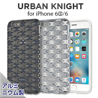 iPhone6s case STI:L URBAN KNIGHT Bar (steel urban night bar) iPhone iPhone6 smahocase titanium silver steel metal alloy mesh