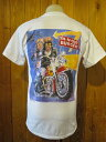 ■アメリカのハンバーガーショップ [IN-N-OUT BURGER]インアンドアウトバーガー オリジナルTシャツ4■ホワイト■(メンズ)S/Mサイズ■…