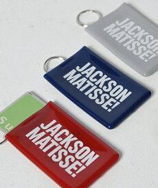 ■ジャクソンマティス(JACKSON MATISSE) Quikey Card Case/ クイッキーカードケース■ネイビー/レッド/グレー■クリックポスト対応商品(送料185円)