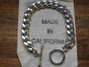 MADE IN CALIFORNIA/T-BAR BRACELET/SILVER 925