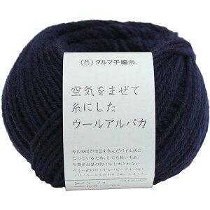 DARUMA 空気をまぜて糸にしたウールアルパカ6  6310-6