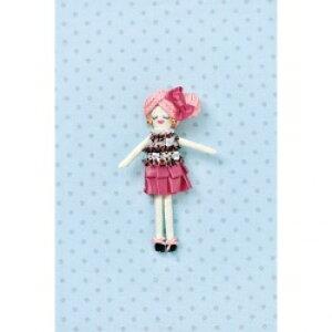 タカギ繊維 人形用ドレスキットパート ブラックピンク メール便/宅配便可  nb-18