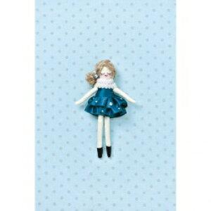 タカギ繊維 人形用ドレスキットパート ブルー メール便/宅配便可  nb-21