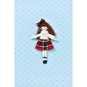 タカギ繊維 人形用ドレスキットパート チェック メール便/宅配便可  nb-22