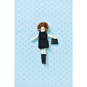 タカギ繊維 人形用ドレスキットパート ニット メール便/宅配便可  nb-23