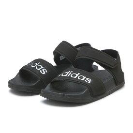 キッズ 【adidas】 アディダス adilette sandal k アディレッタサンダル G26879 BLK/WHT