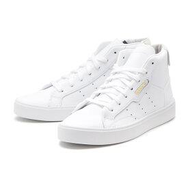 【adidas】 アディダスオリジナルス adidas SLEEK MID W アディダススリーク EE4726 WHT/WHT