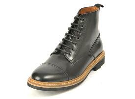【GIANCARLO MORELLI】 ジャンカルロ・モレリ S-TIP BOOT ストレートチップ ブーツ GM01232 F12 NERO