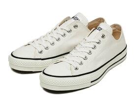 [日本製] 【converse】 コンバース CANVAS ALL STAR J OX キャンバス オールスター J オックス F13 WHITE