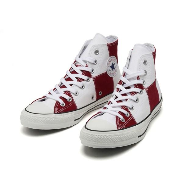 【CONVERSE】 コンバース ALL STAR 100 ICHIMATSU HI オールスター 100 イチマツ ハイ 32961452 WHITE/RED