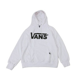 【VANSアパレル】 ヴァンズ パーカー VANS LOGO BASIC HOODY VANS-HD02ABC WHITE