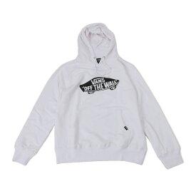 【VANSアパレル】 ヴァンズ パーカー SK8DECK BASIC HOODY VANS-HD01ABC WHITE