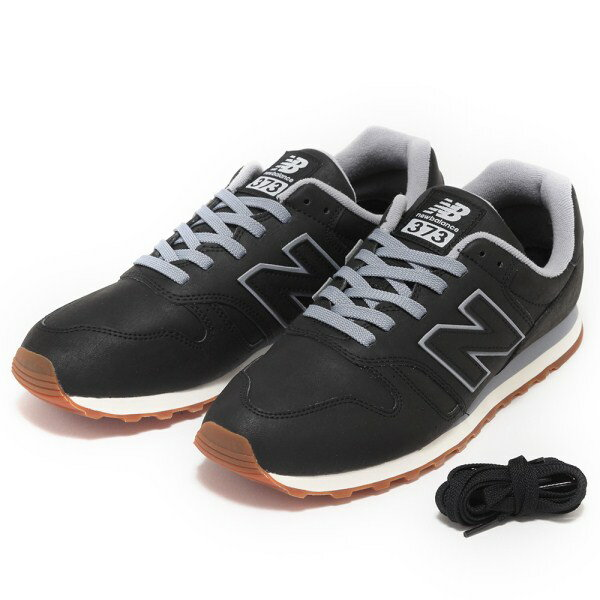 【NEW BALANCE】 ニューバランス ML373BLA(2E) 17FW ABC-MART限定 *BLACK(BLA)