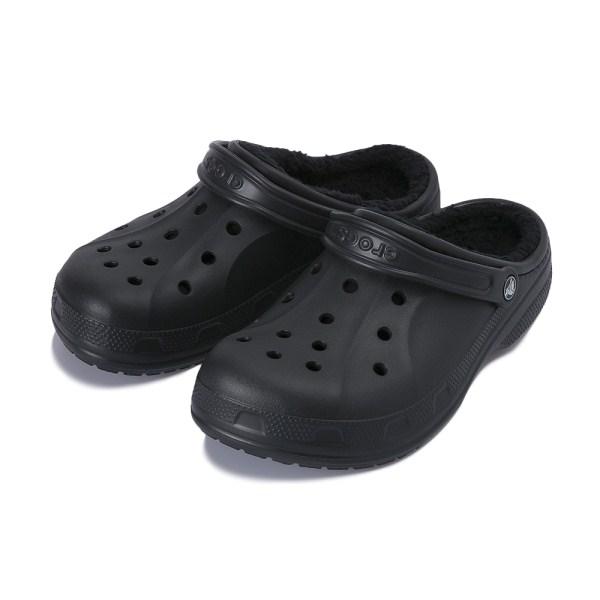 【crocs】 クロックス winter clog ウィンタークロッグ 203766-060 black/black