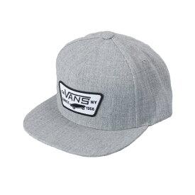 【VANSアパレル】 ヴァンズ キャップ(帽子) FULL PATCH SNAPBACK VN000QPUHTG HEATHER GREY