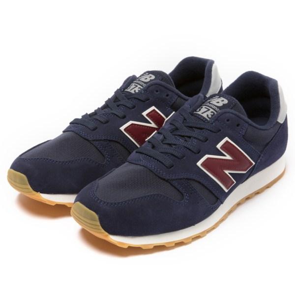 【NEW BALANCE】 ニューバランス ML373NRG(D) 18SS ABC-MART限定 *NAVY/RED(NRG)