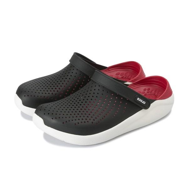 【crocs】 クロックス literide clog ライトライドクロッグ 204592-066 black/white