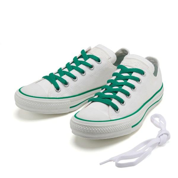 【CONVERSE】 コンバース ALL STAR WR COLOREDLINE OX オールスター WR カラードライン オックス 32862864 WHITE/GREEN