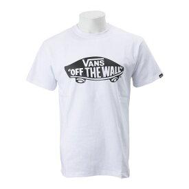 【VANSアパレル】 ヴァンズ Tシャツ SK8 DECK BASIC S/S-TEE VANS-03ABC WHT/BLK