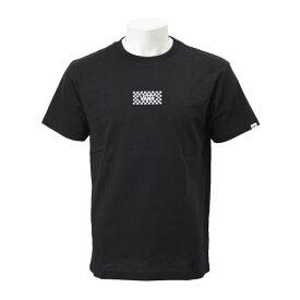 【VANSアパレル】 ヴァンズ Tシャツ Checher 3D Embroidery S/S Tee CD18SS-MT12 BLK/BLK