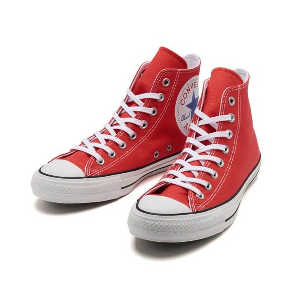 【CONVERSE】 コンバース ALL STAR 100 HUGEPATCH HI オールスター 100 ヒュージパッチ ハイ 32962002 RED
