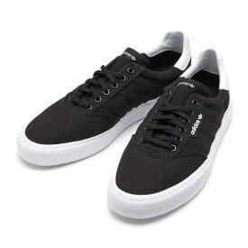 【adidas】 アディダススケートボーディング スニーカー 3MC B22706 BLK/BLK/WHT