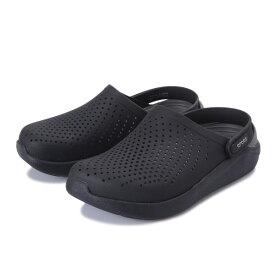 【crocs】 クロックス literide clog リターライド クロッグ 204592-0DD blk/slate grey