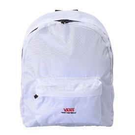 【VANSウェア】Primary Logo Basic Day Pack ヴァンズ バックパック・リュック VA18FW-MB01 18FA WHITE