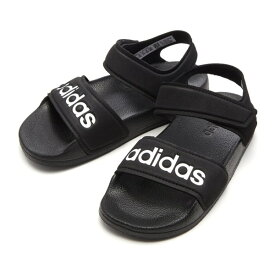 キッズ 【ADIDAS】 アディダス adilette sandal k アディレッタサンダル G26879 19SP BLK/WHT