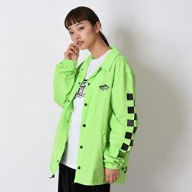 【VANS】Neon Color Coach Jacket ヴァンズ ネオンカラーコーチジャケット VA19SS-MJ04 N-GREEN