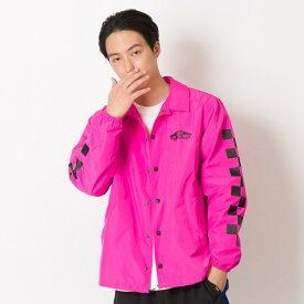 【VANS】Neon Color Coach Jacket ヴァンズ ネオンカラーコーチジャケット VA19SS-MJ04 N-PINK