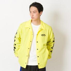 【VANS】Neon Color Coach Jacket ヴァンズ ネオンカラーコーチジャケット VA19SS-MJ04 N-YELLOW