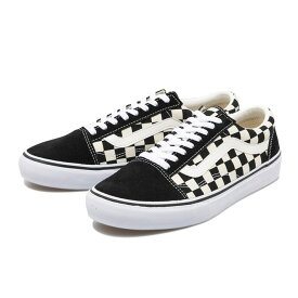 【VANS】 ヴァンズ OLD SKOOL DX オールドスクール DX V36CL+ BLK/WHT CHECK