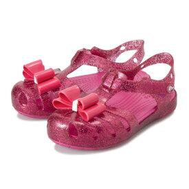 キッズ 【crocs】 クロックス Crocs Isabella Bow Sandal (14-19) クロックス イザベラ ボウ サンダル 205382-6X0 19SP Candy Pink