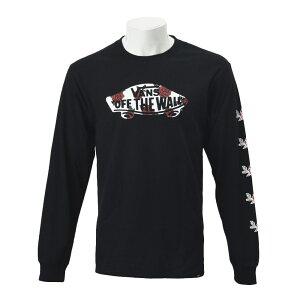 【VANS】RoseSK8L/S-ShirtsヴァンズロングスリーブTシャツCD19SS-MT4119SPBLACK