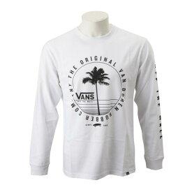 【VANSウェア】Vans PalmTree L/S Tee ヴァンズ ロングスリーブTシャツ CD19SS-MT12 WHITE