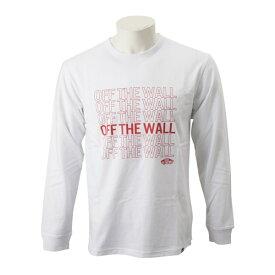 【VANSウェア】Vans OffThe Wall L/S Tee ヴァンズ ロングスリーブTシャツ CD19SS-MT13 WHITE