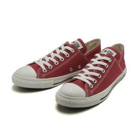 【CONVERSE】 コンバース ALL STAR LINEN LP BB OX オールスター リネン LP BB オックス 31300121 RED