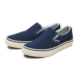 "【VANS】""COMFORT"" SLIP ON ヴァンズ スリッポン V98CF CLASSICS BLUE"