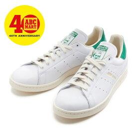 【adidas】 アディダスオリジナルス STAN SMITH MIG スタンスミス EE9145 ABC-MART限定 *WHITE/WHITE