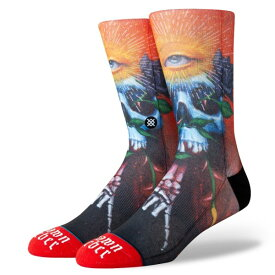 【STANCE SOCKS】 スタンス ソックス SHAWN BARBER M545A19SHA#RED RED