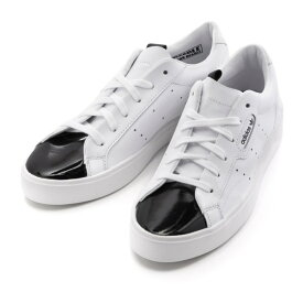 【adidas】 アディダスオリジナルス adidas SLEEK W アディダススリーク EE4709 WHITE/WHITE