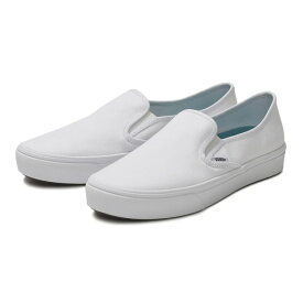 【VANS】SLIP ON SF ヴァンズ スリッポンSF V98CNV T.WHITE