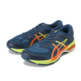 【ASICS】 アシックス GEL-KAYANO 26 1011A712 400 M.BLUE/YUZU
