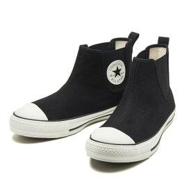 【CONVERSE】 コンバース ALL STAR WR SIDEGORE HI オールスター WR サイドゴア ハイ 31300631 BLACK