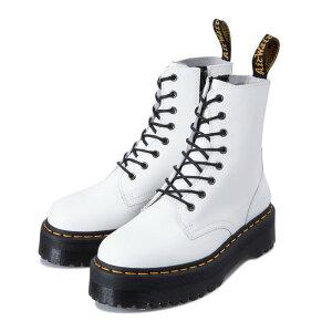 JADON SMOOTH LEATHER PLATFORM BOOTS WHITE POLISHED SMOOTH 15265100