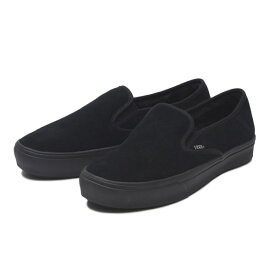 【VANS】SLIP ON SF ヴァンズ スリッポンSF V98SF S&F M.BLACK